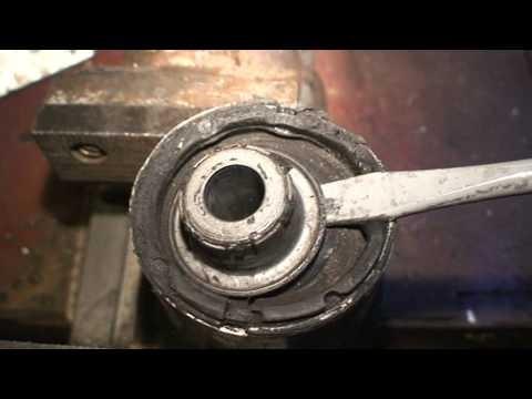 Как заменить сайлент-блок заднего продольного рычага Alfa Romeo 159