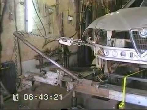 Рихтовка вытяжка ремонт Alfa Romeo 156