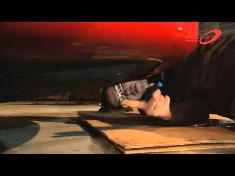 Установка передней альтернативной оптики от Dectane серии Dayline на автомобиль Alfa Romeo 156