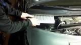 Замена салонного фильтра Audi A6