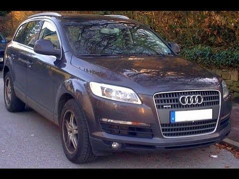 Замена салонного фильтра Audi Q7