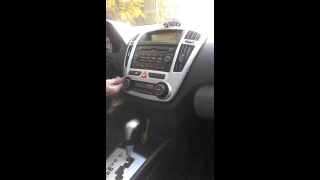 Как снять центральную консоль Kia Ceed