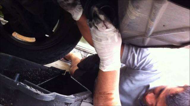 Замена масла ГУР BMW E36