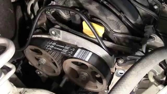 Как заменить ремень ГРМ Renault Logan (Renault Duster, Renault Sandero)