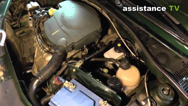 Как удалить воздушную пробку системы охлаждения двигателя Renault Logan