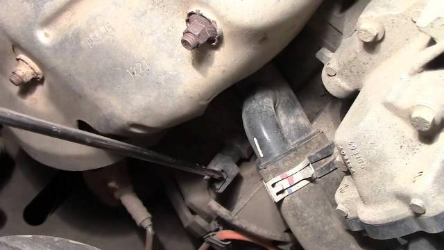 Расположение датчиков двигателя Renault