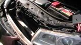 Снятие бампера и передней фары Renault Megane 2