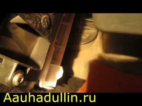 Снятие и замена салонного фильтра Renault Logan & Sandero