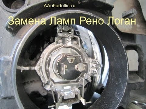 Замена лампочки габарита Renault Laguna 3