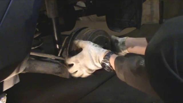 Замена подшипника задней ступицы Renault Symbol