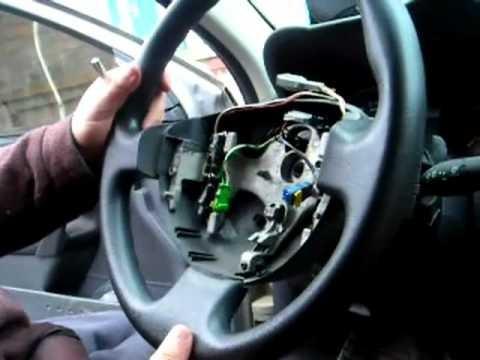 Замена шлейфа подушки безопасности Renault Megane 2