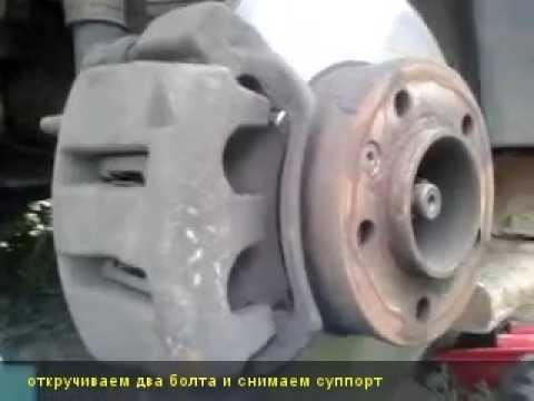 Замена тормозных колодок Renault Master