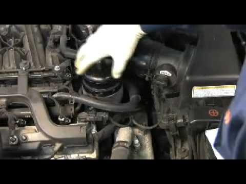 Замена масла в двигателе Hyundai Sonata NF