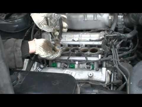 Замена свечей и датчика детонации Hyundai Tucson