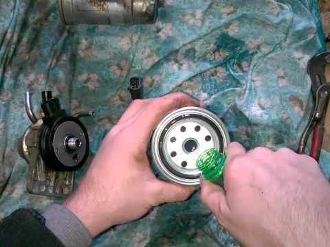 Замена топливного фильтра Hyundai Porter 2