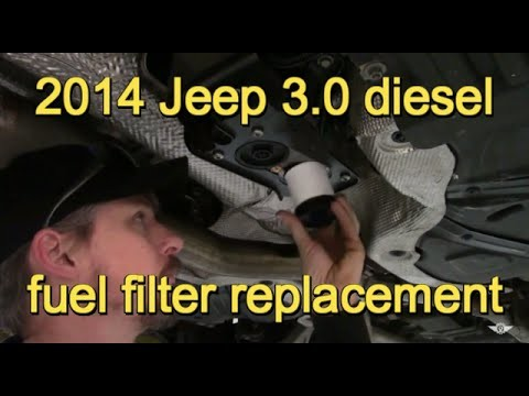 Замена топливного фильтра Jeep Grand Cherokee WK2