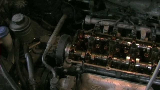 Замена цепи ГРМ Hyundai Getz 1.4