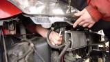 Демонтаж фары головного света Citroen C4