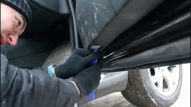 Как снять обшивку двери BMW X5 E53
