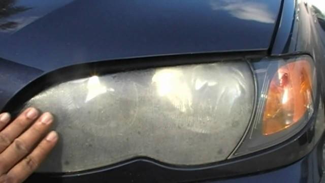 Полировка передних фар BMW E46