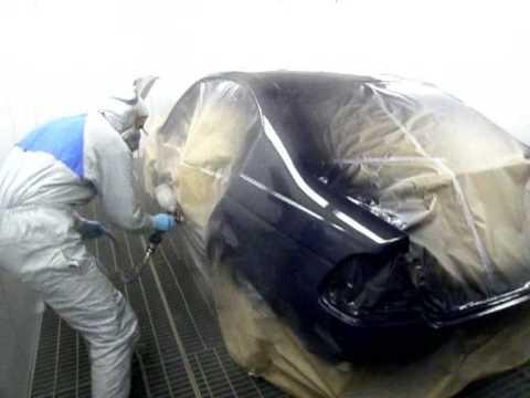 Полная покраска кузова BMW E46
