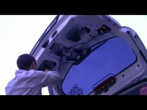 Разборка и шумоизоляция 5-ой двери Kia Sportage 3