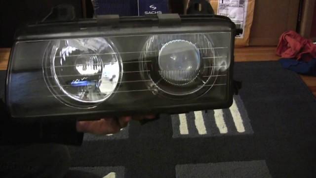 Ремонт и обслуживание передней фары BMW E36