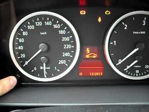 Сброс сервиса на бортовом компьютере BMW E60