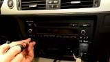 Снятие и замена магнитолы BMW E90