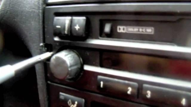 Снятие и замена штатной магнитолы BMW E36