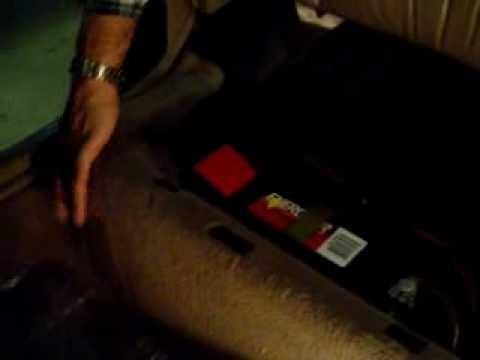 Снятие и замена заднего сидения BMW E34