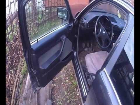 Снятие обшивки двери BMW E34