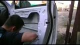 Снятие панели, разборка передней двери и шумоизоляция Kia Sportage 3
