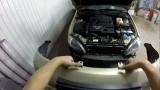 Снятие переднего бампера Chevrolet Lacetti