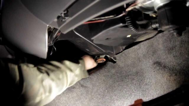 Снятие радиатора печки Chevrolet Lanos