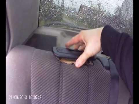 Снятие заднего сиденья BMW E34