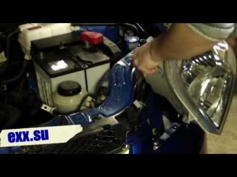 Установка комплекта ПТФ Chevrolet Aveo