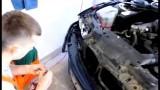 Замена ангельских глаз BMW E46