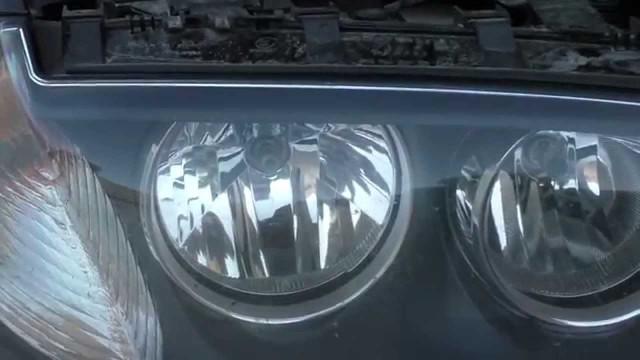 Замена лампы ближнего света BMW X3