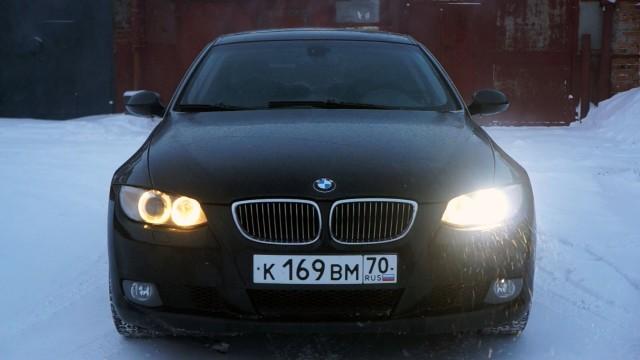 Замена лампы ксенона в фаре BMW Е90