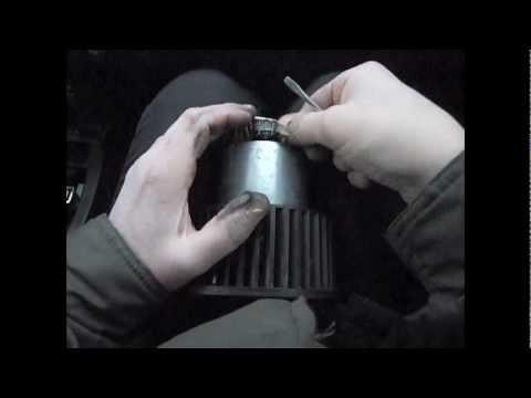 Замена мотора отопителя салона Citroen C4