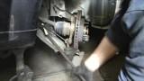 Замена переднего ступичного подшипника Chevrolet Lacetti