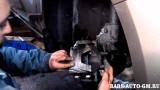 Замена передних колодок Chevrolet Cruze
