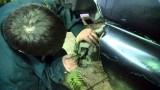 Замена передних тормозных колодок Chevrolet Niva