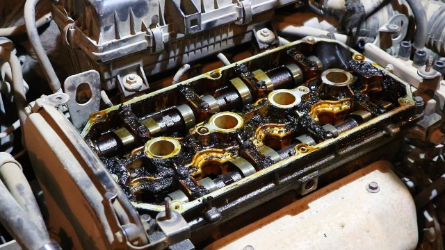 Замена прокладки крышки клапанов Kia Rio