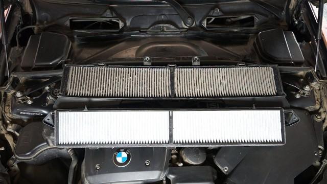 Замена салонного фильтра BMW E90, E91, E92