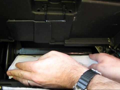 Замена салонного фильтра Chevrolet Cobalt