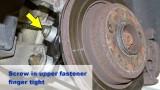 Замена шарнира шаровой BMW E39