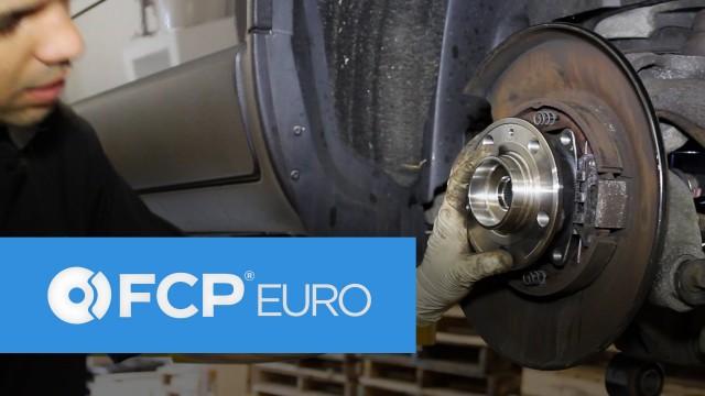 Замена задней ступицы колеса и подшипник Volvo XC70