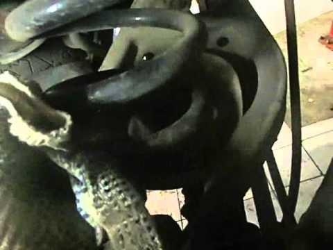 Замена задних пружин BMW X3